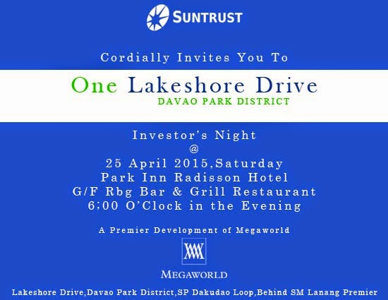 One Lakeshore Drive Up-Coming Investor's Night