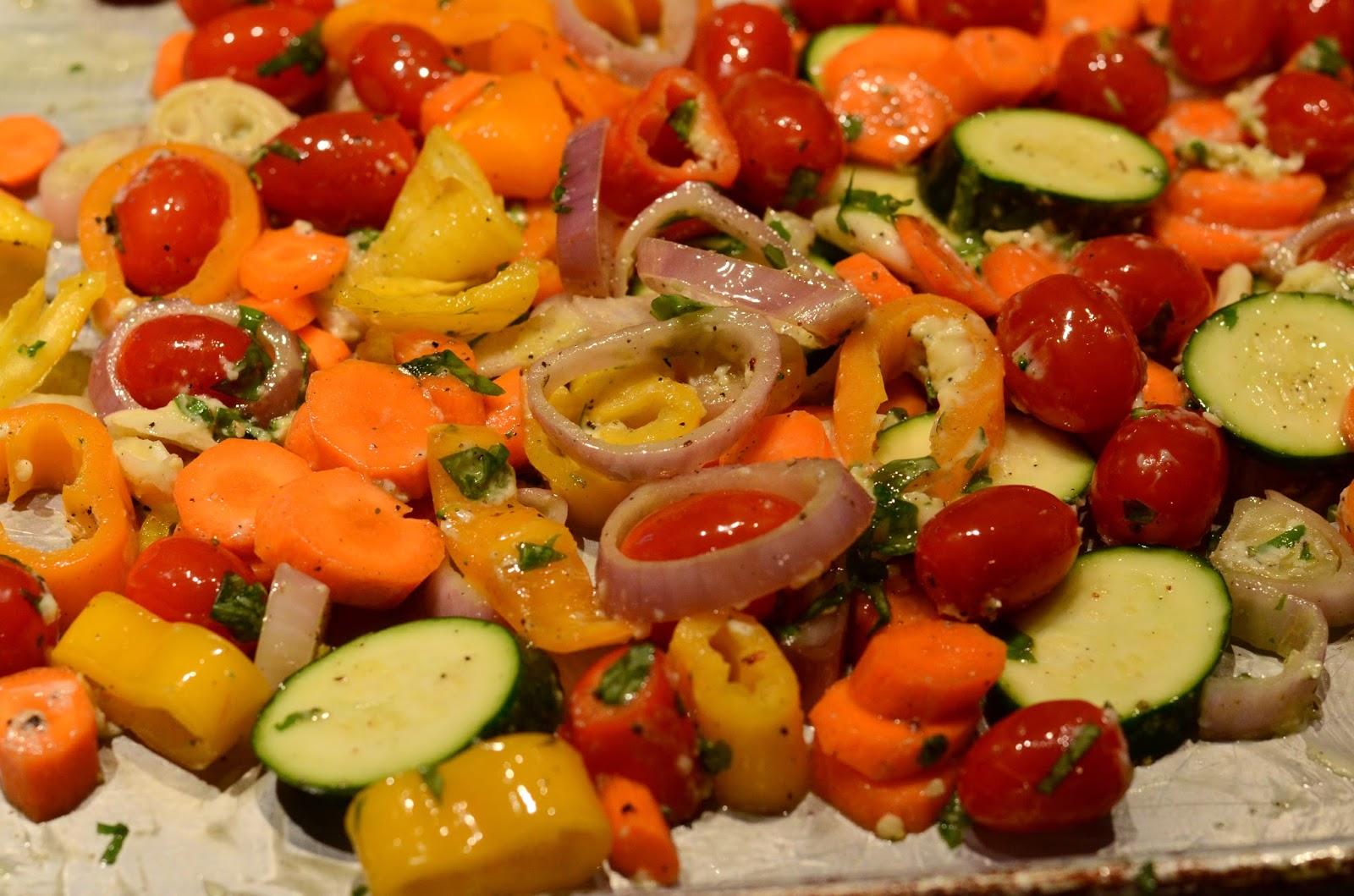 Food for Flicks: Oven Roasted Vegetables