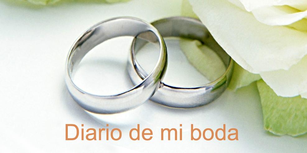 Diario de mi boda
