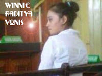 Winnie Raditya Simpan Paket Sabu Di Bra | Vonis Winnie Raditya