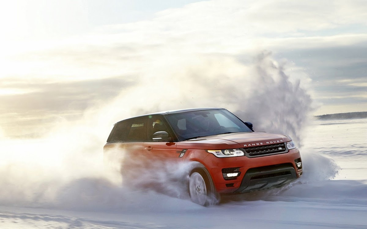 2014 Range Rover Sport Widescreen HD Wallpaper 3