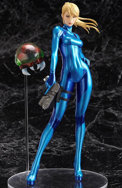 Metroid Samus Aran Zero Suit PVC