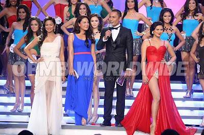 Precious Lara Quigaman Cinco gown at Binibining Pilipinas 2011