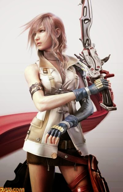 Final Fantasy XIII Cutscene