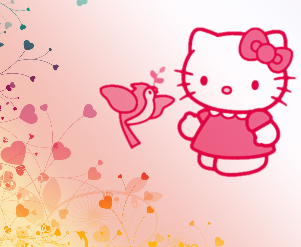 Wallpaper Hello Kitty HD | Deloiz Wallpaper