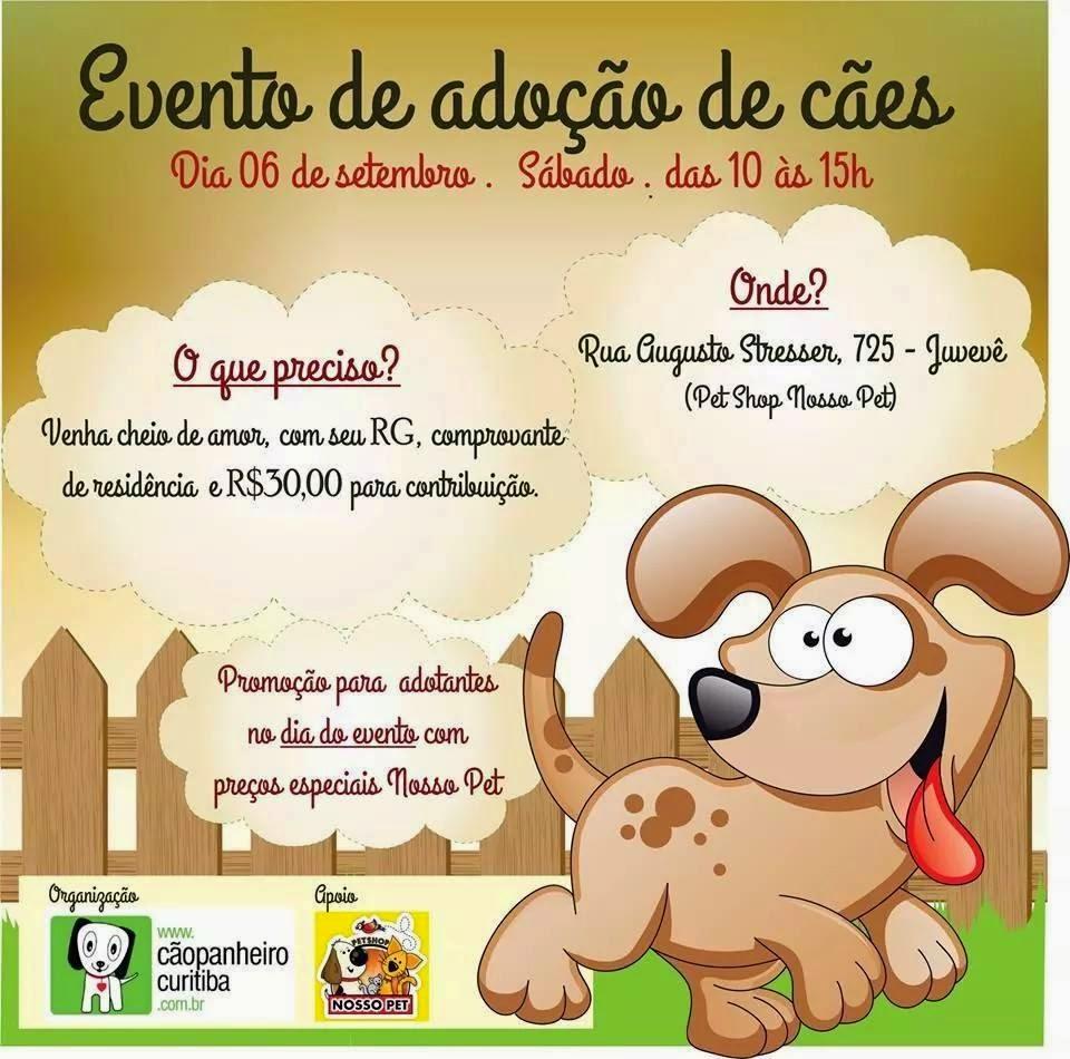 Sábado - Dois Eventos Cãopanheiro
