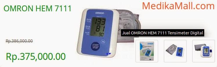 Info Harga Tensimeter Digital Omron HEM 7111