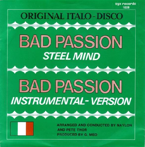 Steel Mind - Bad Passion (Maxi)