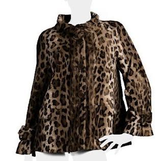 camisa em Animal Print Gerard Darel