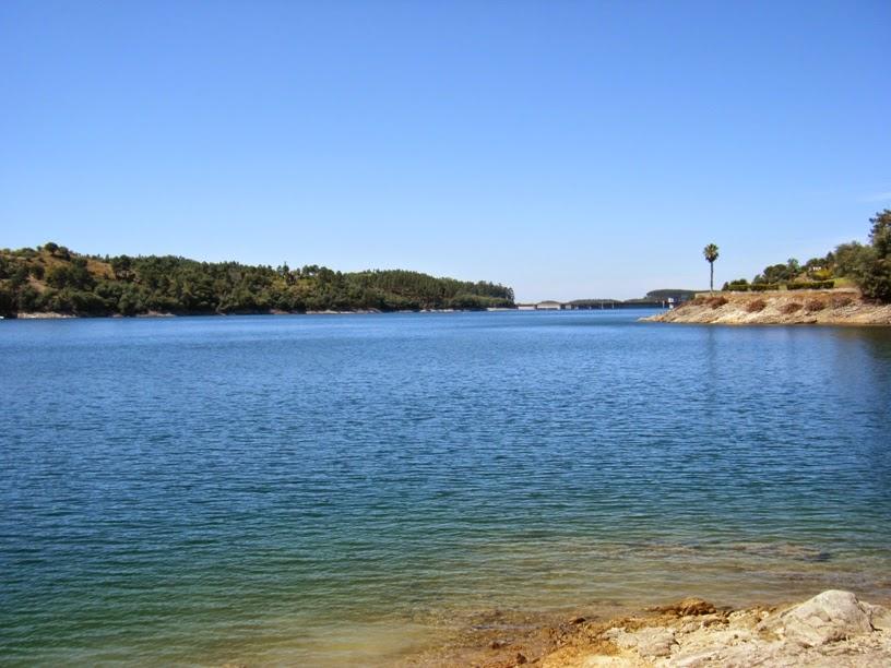 Praia Fluvial da Barragem de Castelo de Bode