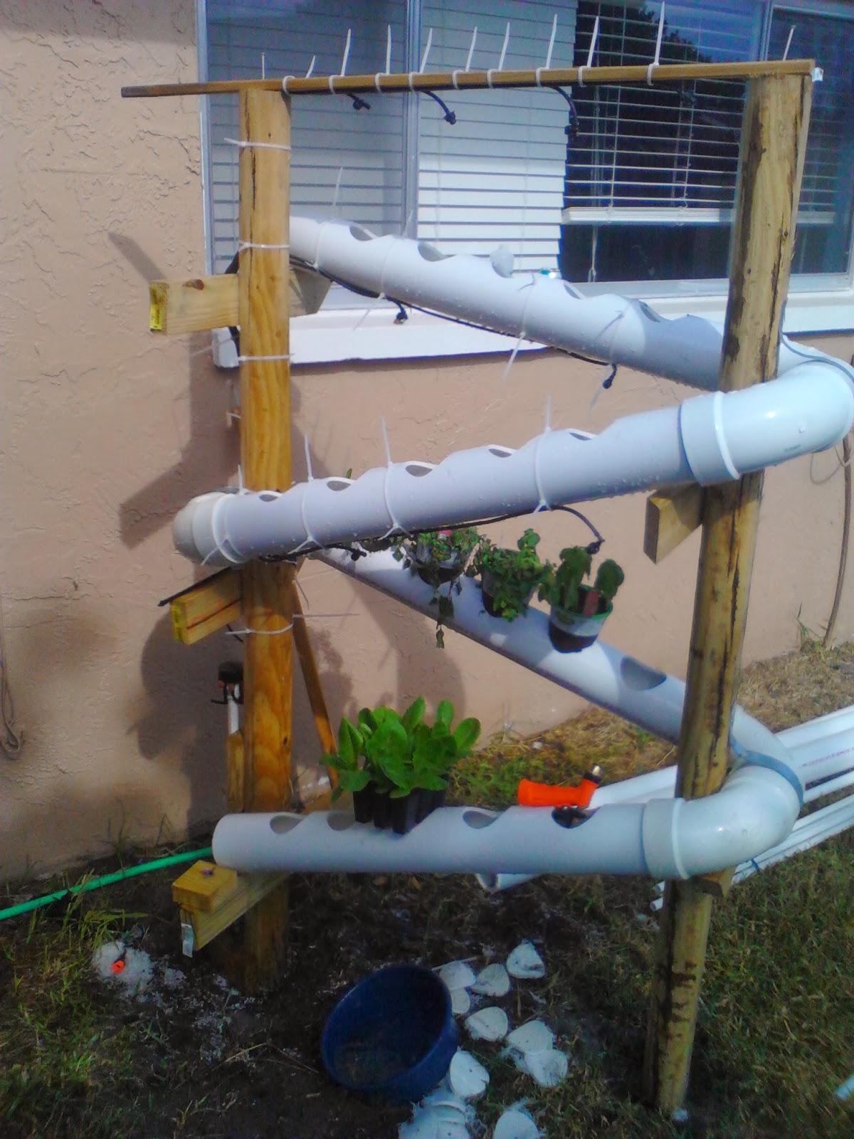 Develobert arduino powered vertical garden