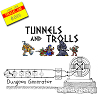 Free GM Resource: Tunnels and Trolls Random Dungeon Generator