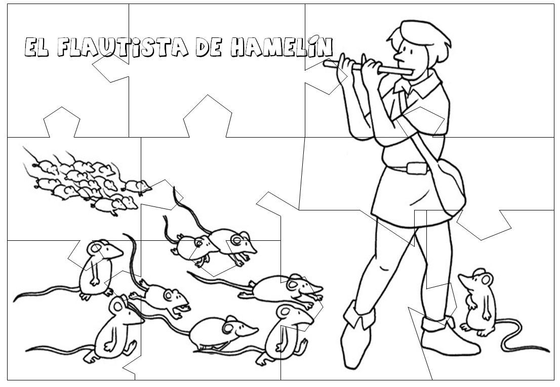 Flautista De Hamel  N  Puzzle
