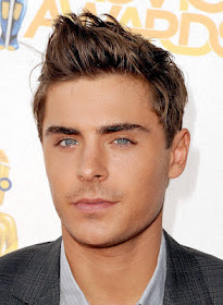 SPIKY HAIRSTYLES FOR MEN  - Zac Efron
