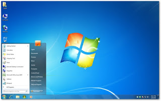 windows7 interactive graphical interface