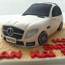 SLK car cake