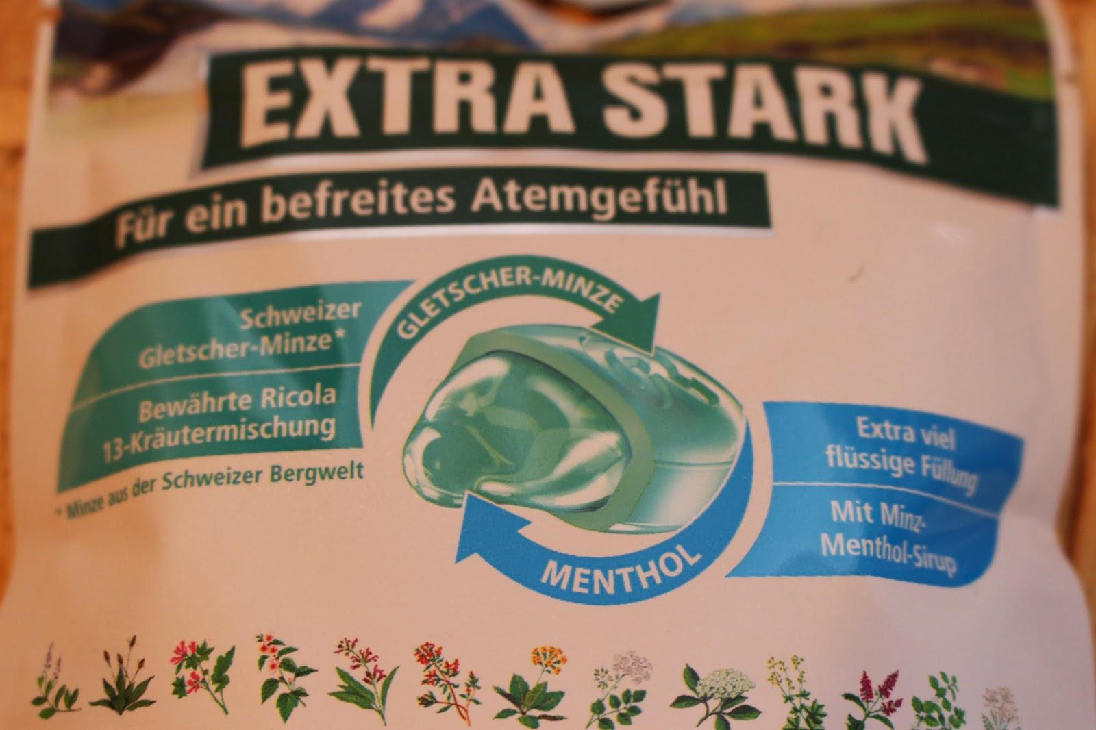 Ricola Extra Stark Gletscher Minze