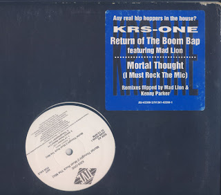 KRS-One ‎- Return Of The Boom Bap / Mortal Thought (I Must Rock The Mic) (1994) (12'') (320 kbps)
