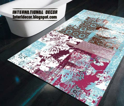 contemporary rugs, art rugs