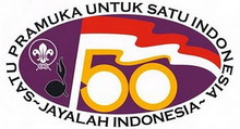 Logo 50th Anniversary Scouting Indonesia