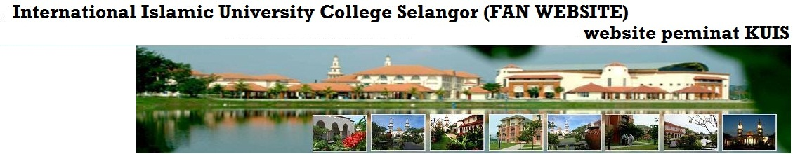 International Islamic University College Selangor  (KUIS) Fan Website