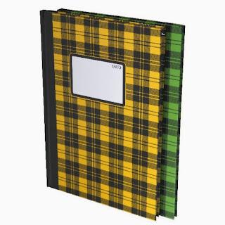 buku folio besar mirage 100