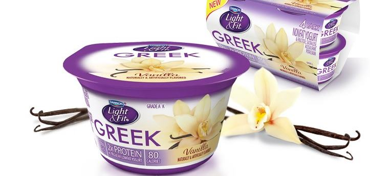 I Found Dannon Light U0026 Fit Greek Yogurt At My Local Grocery Store   And I  Was Both Intrigued AND Skeptical At The Same Time. Only 80 Calories Per Cup?