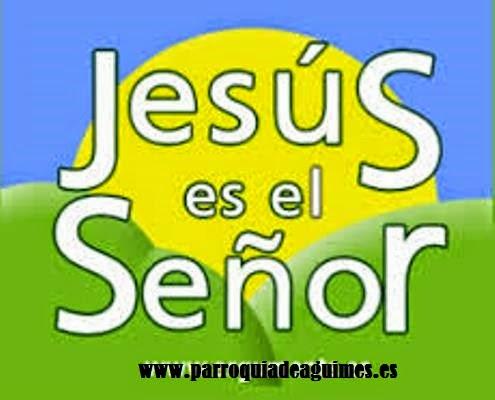JESÚS ES EL SEÑOR,CATECISMO INTERACTIVO.
