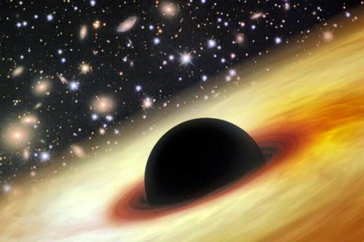 lubang hitam terbesar yang pernah di temukan