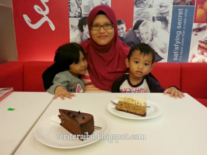 Birthday Celebration @ Secret Recipe
