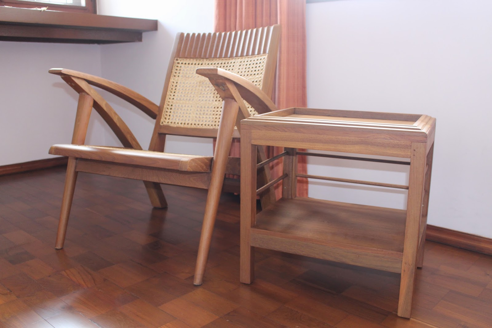 My life in myanmar discover the teak and rattan furniture for Outdoor furniture yangon