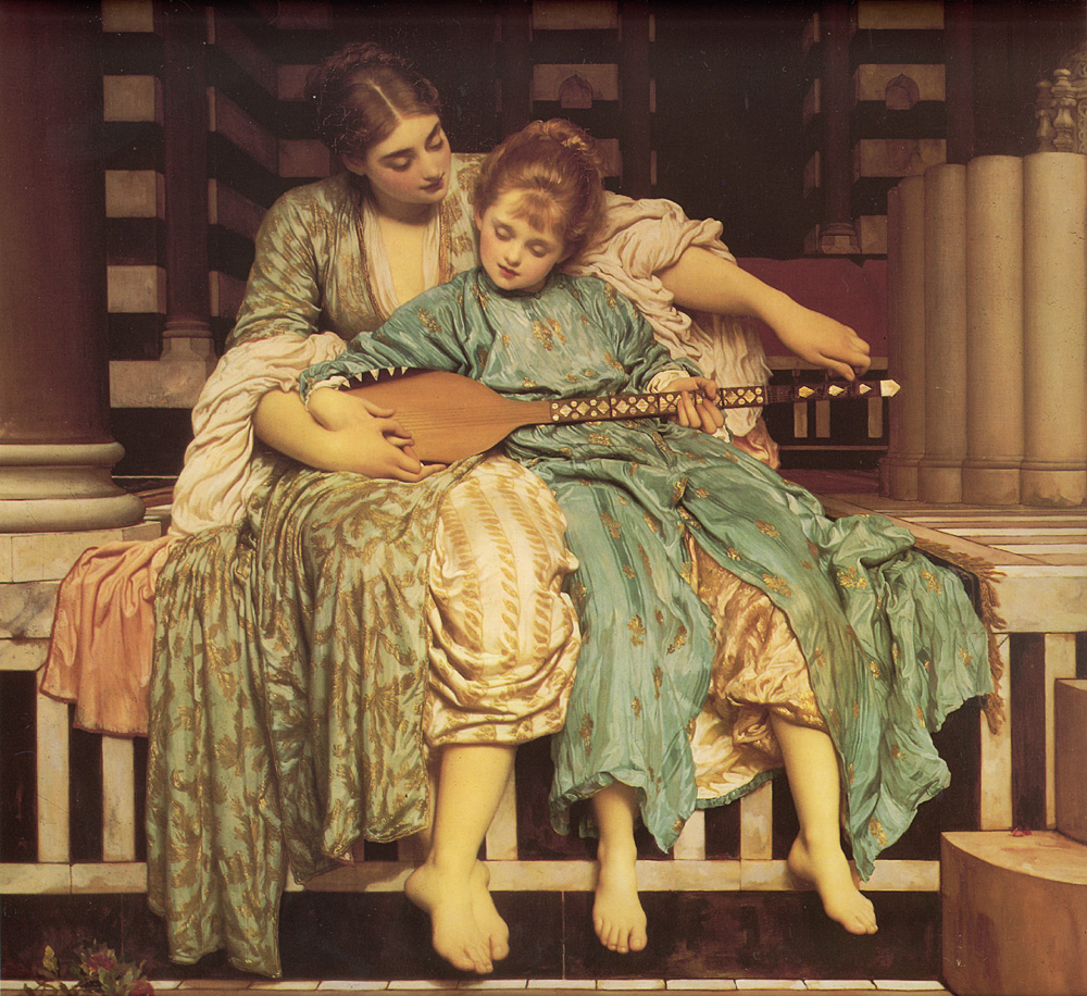 lord frederick leighton music lesson