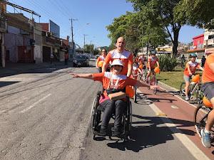 Pedale por uma causa  2017 - Santo André/SP