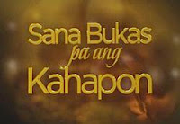 Sana Bukas pa ang Kahapon (Lit: Tomorrow's Yesterday / English: Attack on Chocolate / Japanese: 進撃のチョコ) is a 2014 Philippine primetime television drama series directed by Jerome C. Pobocan and […]