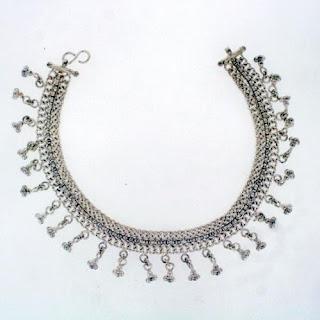 Nice Designed Sterling Silver Anklets