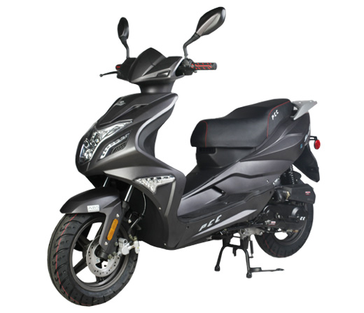 Puma speedo 50cc moped scooter review powerful scooter with small