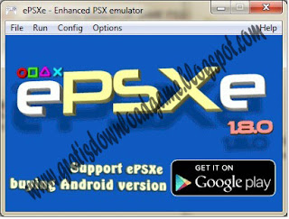 Download EMULATOR GAME PSX/PS1 ePSXe v1.8.0