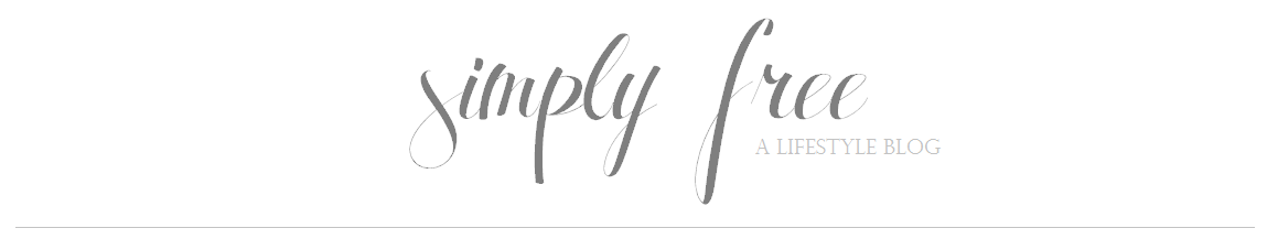 Simply Free   A Lifestyle Blog