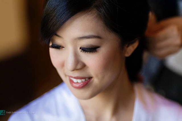 Grace Lin Makeup Professional Team Tiffany Dennis Wedding