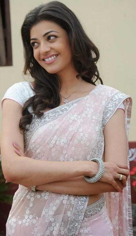 Hot Kajal agarwal in saree