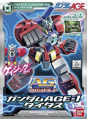 AG Gundam AGE-1 Titus box art