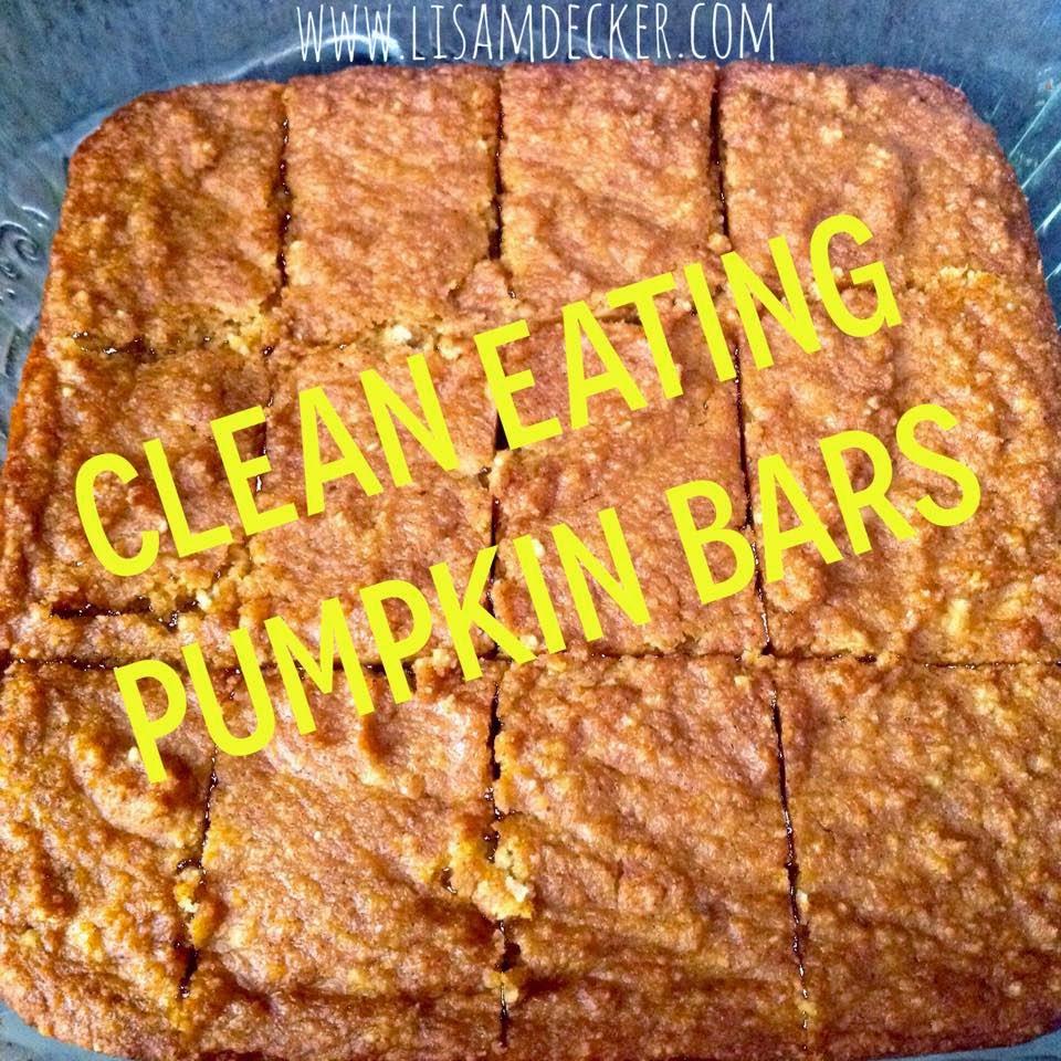 Clean Eating Pumpkin Bars, Clean Eating Desserts, Pumpkin Recipes, Thanksgiving Desserts