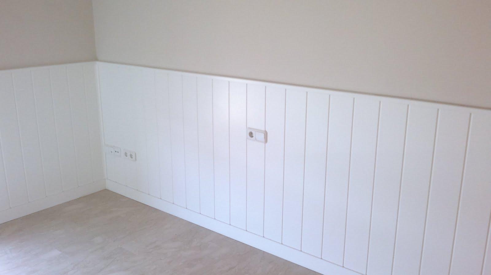 Decoraciones sahuquillo friso blanco - Habitaciones con friso ...