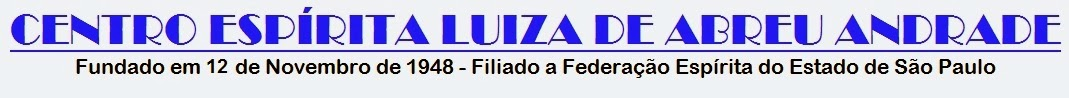 CENTRO ESPÍRITA LUIZA DE ABREU ANDRADE
