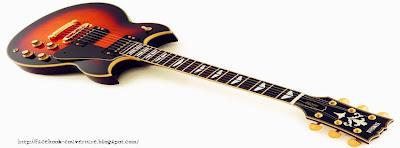 couverture journal facebook guitare électrique