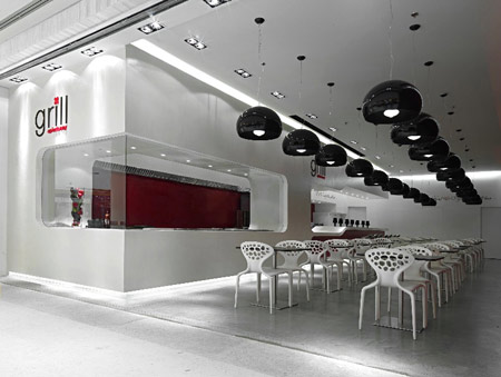 interior decoration of restaurant table interior car led lights