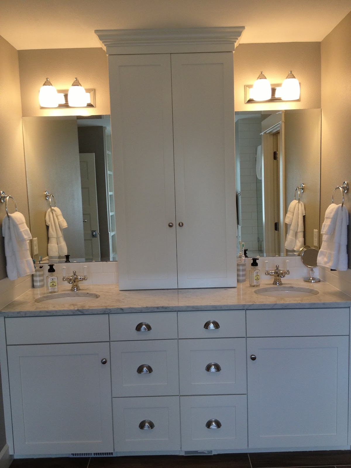 Building our dream home, from the ground up: House tour - master bath