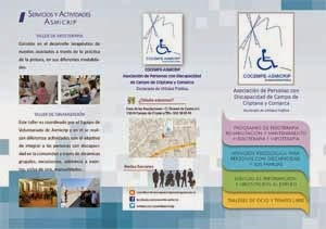 Actividades y servicios Asmicrip