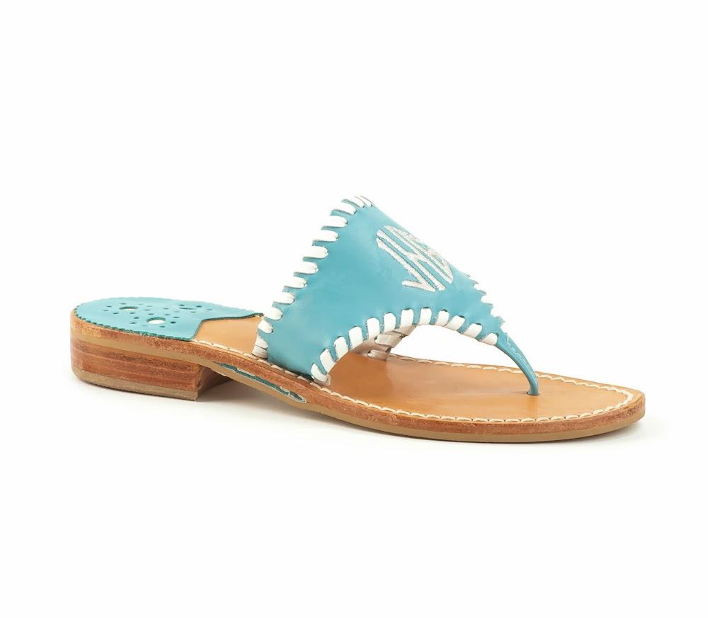 http://www.jackrogersusa.com/shoes/sandals/womens-circle-monogrammed-sandal