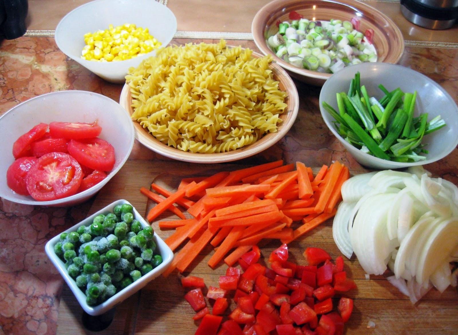 Comidas con historias tirabuzones con vegetales al wok for Que cocinar con verduras